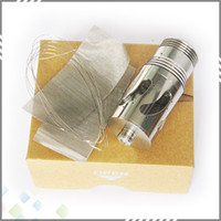 Replaceable 3.0ml Glass Wholesale Steam Turbine Atomizer fit for E Cigarette Nemesis Mod Kayfun Shisha Chi you Mod Atomizer DHL Free