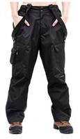 Wholesale Men s windproof waterproof outdoor ski warm removable fleece Trousers