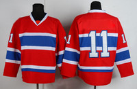 Wholesale Hockey Jersey Canadiens Brendan Gallagher Red Ice Hockey Jersey Well Sewn Name All Team Players Sports Jerseys Outdoor Apparel for Men