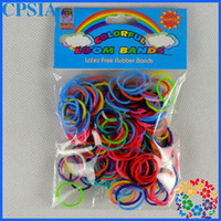 Wholesale 02 Fedex New Arrival Rainbow Loom Rubber Band Refills DIY Bracelet