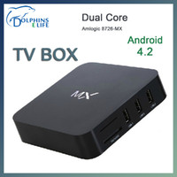 Wholesale Android Smart TV Box XBMC Ghz WIFI HDMI android tv Full HD P Dual Core G android tv box G DDR3 memory