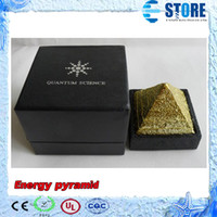 Wholesale Health Quantum science energy pyramid with negative anion cc as a decoration to keep your health M
