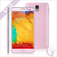 5.7 Android 1G Pink 5.7 inch Note 3 N9000 Quad Core MTK6589T 1.5GHz 1GB 16GB Android 4.2 GPS WiFi 3G WCDMA 2G GSM Dual Sim Card 13.0MP Camera Smart Phone