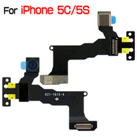 Wholesale for iPhone C S OEM Front Facing Camera Flex Cable Module for iPhone5C iPhone5S By DHL EMS
