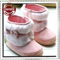 Girl baby pre walkers - Warm and Cute winter Anti slip Baby Boots Toddler Infant s Shoes Footwear Baby pre walkers