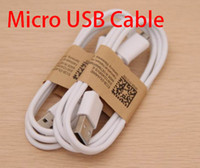 Wholesale V8 M FT Micro USB Charger Cable for Samsung Galaxy S2 S3 I9300 S4 I9500 Note N7100 Data Sync Charging Cord for Android Phone Sony HTC LG