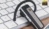None   V22 H.264 Bluetooth Earphone Headset Style Mini Camera DV DVR HD Webcam DV Camcorder 1080P Video Recorder 2013 Newest