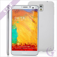 5.7 Android 1G 5.7 inch 1920*1080 FHD N9000 Note 3 MTK6589T 1.5GHz Quad Core 1GB 16GB 13.0MP Camera Android 4.2 GPS WiFi 3G WCMDA Dual Sim Card Smartphone