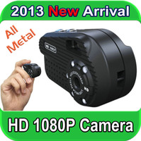 Wholesale 2013 New Arrival Mini Camera Spy with HD P Video Record M Photo shoot Nightvision All Metal Candid Camera