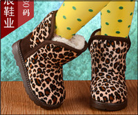 Wholesale Hot Sale Childrens Boot Kids Snowboots Kids Boot Kids Shoes Childrens Footwear Kids Winter Boots Baby Shoes Leopard grain Boots Keep Warm