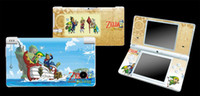 Wholesale pieces The Legend of Zelda Spirit Tracks game SKIN STICKER COVER for NDSi Console Decorations