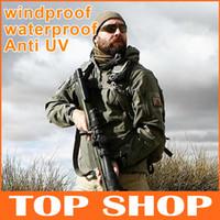 Wholesale 2014 New Sale V4 Men Outdoor Hunting Camping Waterproof Jacket Rocket Sports Tad Jacket Fleece Hot Sale Warm Coat HW0013
