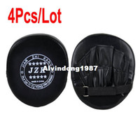 Wholesale 4Pcs Boxing Mitts Training Target Focus Punch Pads Glove Karate Muay Thai Kick MMA TK0930