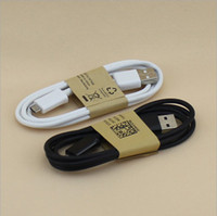 White and Black Universal  1M V8 Micro USB Data Sync Cable Charger for Samsung Galaxy S3 S4 HTC LG Sony Nokia with retail packing 2000pcs Free DHL Fedex
