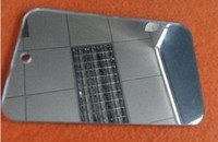 Wholesale THZ Acrylic Mirror Of x400x3mm Square Decorative PMMA Plastic Sheet Can Cut Any Size And Any Shape