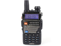 Wholesale BAOFENG Dual Band UV RE Plus W CH UHF VHF MHz MHz VOX Dual Display A0850P