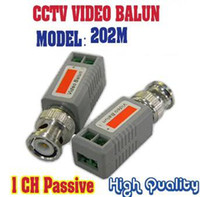 Wholesale Twisted BNC CCTV Video Balun passive Transceivers UTP Balun Cat5 CCTV UTP Video Balun up to ft Range