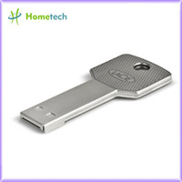 silver Car Key,Metal key usb flash drive key NEW ! Waterproof Metal Key USB Memory Stick Flash Pen Drive usb driven 2GB 4GB 8GB 16GB 32GB 64GB FREE shipping