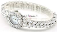 Wholesale Royal crown individuality brief full rhinestone elegant slender bracelet ladies watch Diamond Luxury Watch Best Christmas Gift Via DHL
