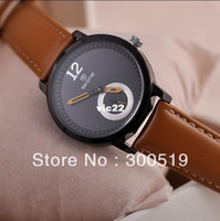 Women's Water Resistant Round JW251 2013 New Women Fashion Genuine Leather Strap Watches Luxury Big Size Japan Movement Clock SKONE Brand Watch New Clock