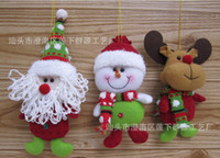 Wholesale Christmas Ornament Santa Claus Decoration hanging C0482