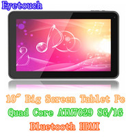 Wholesale Cheapest inch Quad Core Tablet PC ATM7029 GHz Android With dual Camera HDMI Wifi External G MID G G HDMI Output quot
