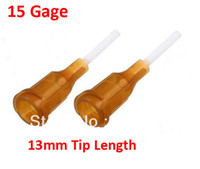 Wholesale Brown Gage mm Tip Inner Diameter Dispenser Needle Tip PVC Tips