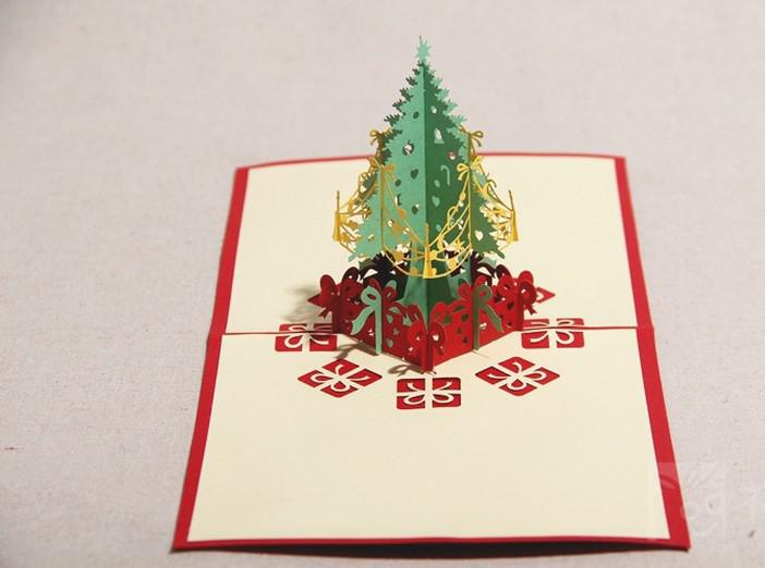 New arrival greeting xmas card design christmas cards for 3d xmas cards to make