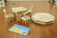 Wholesale Hot Furniture sets DIY2 models full mini furniture qjq258 sets up the batch