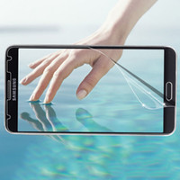 No For Samsung Front Clear Crystal LCD Screen Protector for Samsung Galaxy Note 3 N9000 Film Guard Case 200pcs Lot