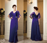 Elegant 2014 Short Sleeves Mother of the Bride Groom Dresses...