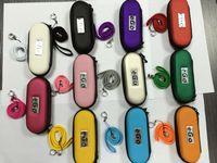 estuche de cremallera ego, XL L M S ML Tamaño ego Protable bolsa ego maletín de transporte para el cigarrillo electrónico 10 colores DHL libre!