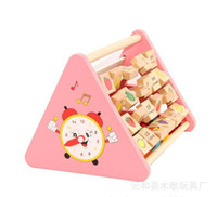 Wooden wooden matches - Educational toys multi functional combination learning cognitive frame find an animal shape matching
