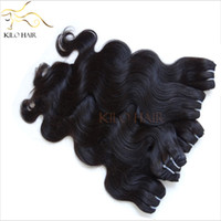 Wholesale Body Wave Eurasian Virgin Hair Weft Mix Length Human Hair Extensions quot to quot DHL Best Unprocessed Human Hair Bundle