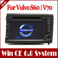 Wholesale Auto Radio GPS Navigation Car DVD Player for Volvo S60 V70 with Bluetooth TV USB AUX Map Ipod FM MP3 Stereo Audio Video Sat Nav