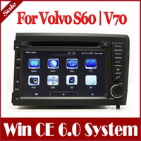 Wholesale 7 quot In Dash Din Car DVD Player for Volvo S60 V70 with GPS Navigation Navi Stereo Radio Bluetooth TV USB AUX Audio Auto Multimedia Player