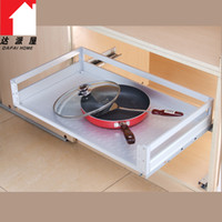 other other  Space aluminum lalan aluminum alloy kitchen cabinet basket damping slide