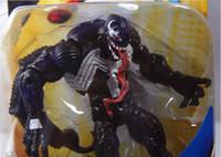 Wholesale The Amazing Spider Man Toy Spiderman Venom PVC Figure Toy cm New Movie Version Figures18cm