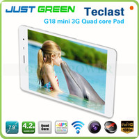Teclast 7.9 inch  Quad Core Christmas Gifts 7.9 Inch IPS Teclast G18 Mini 3G Quad Core Phone Call Tablet Phablet Android 3G WCDMA GPS Bluetooth Dual Camera