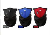 Wholesale 500pcs Neoprene Snowboard Ski Cycling Face Mask Neck Warmer Bike Bicyle ski mask mixed colors