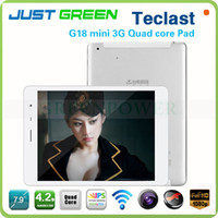 Teclast 7.9 inch Quad Core Teclast G18 Mini 3G WCDMA Phone Call Tablet Phablet 7.9inch IPS GPS Bluetooth Dual Camera Android Quad Core 1GB 16GB