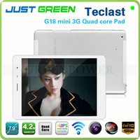 Teclast 7.9inch Quad Core 2013 Newest Teclast G18 mini 7.9inch Quad core 3G Phone Call tablet pc Android 4.2 bluetooth GPS