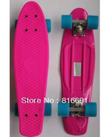 Wholesale Penny Skate style board Nickel Cruiser plastic skateboard longboard