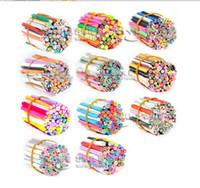 Fimo Clay fimo canes - 100pcs D Nail Art Fimo Canes Sticker Acrylic UV Nail Art Decoration tips kits