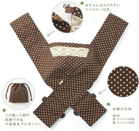 Wholesale 1 Piece X Style Cotton Baby Carrier Labor Saving Baby Slings Open Backpacks Baby Bjorn