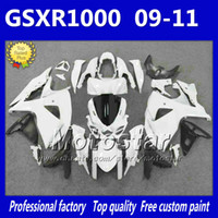 Wholesale High quality white black fairing kit for SUZUKI GSX R1000 K9 aftermarket fairings set GSXR GSXR1000 gifts df3