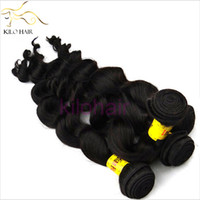 Wholesale Cheap Indian Virgin Hair Loose Wave Remy Human Hair Extensions Fashion Hair Products Mixed Length Unprocessed Natural Color Hair