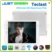 Teclast 7.9 inch Quad Core 3PCS 7.9'' IPS screen Teclast G18 Mini Android Quad Core 2G GSM 3G WCDMA Phone Call tablet pc phablet 1GB Ram GPS Dual Camera
