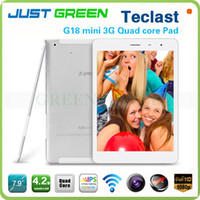 Teclast 7.9 inch Quad Core 3PCS 7.9'' IPS Teclast G18 Mini Android Quad Core 1GB Ram 16GB WCDMA 3G Phone Call Tablet PC