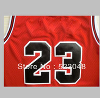 Wholesale TOP quality Chicago jordan Basketball jersey Embroidery logos Size accept mix order